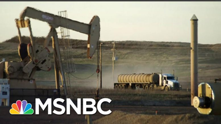 Oil Futures Go Negative For The First Time Ever Amid Pandemic   All In   MSNBC 1