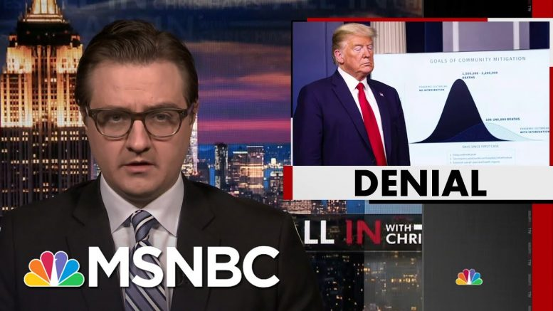 Chris Hayes On Parallels Between Climate Change And Coronavirus | All In | MSNBC 1