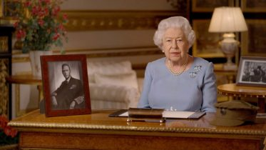 Queen Elizabeth delivers rare public address for the anniversary of 75th VE-Day 2