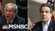 Heilemann: 'Cuomo Is Conducting A Symphony, While Trump Is Blowing His Own Horn'   Deadline   MSNBC 3