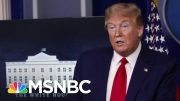 NYT: Doctor Removed From Federal Post After Urging Vetting Of Treatments Embraced By Trump | MSNBC 3