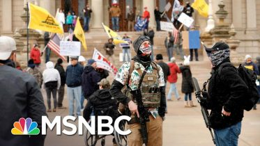 Michael Moore Reacts To Coronavirus Protests Backed By Trump Allies | The 11th Hour | MSNBC 6