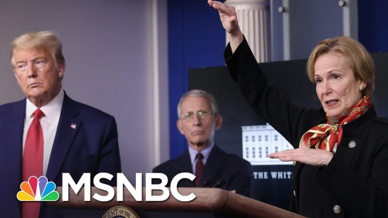 Trump Talks Four Times More Than Birx & Fauci Combined At Briefings | The 11th Hour | MSNBC 1