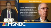 Andrew Cuomo: McConnell's Bankruptcy Suggestion For States Is 'Really Dumb' | MSNBC 2
