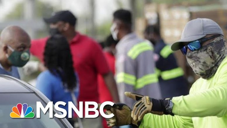 As Trump Touts Economy, Crashing Job Market Destroys 26 Million U.S. Jobs | MSNBC 1