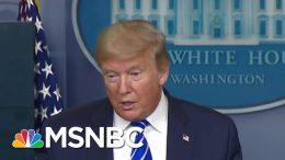 Medical Expert 'Worried' About Trump After Bizarre Question On Injecting Disinfectant   MSNBC 3