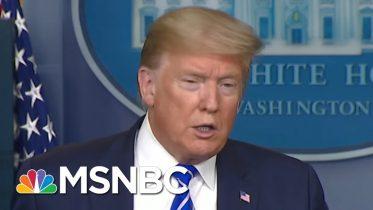 Vanity Fair Looks At Trump's Plan To Battle Virus With Unproven Drug | Morning Joe | MSNBC 6