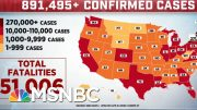 Today, The U.S. Passed 50,000 Deaths Due To COVID-19 | MTP Daily | MSNBC 3