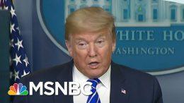 Trump Facing 'Historic Political Defeat' Amidst Virus, Says Bush Aide | MSNBC 5