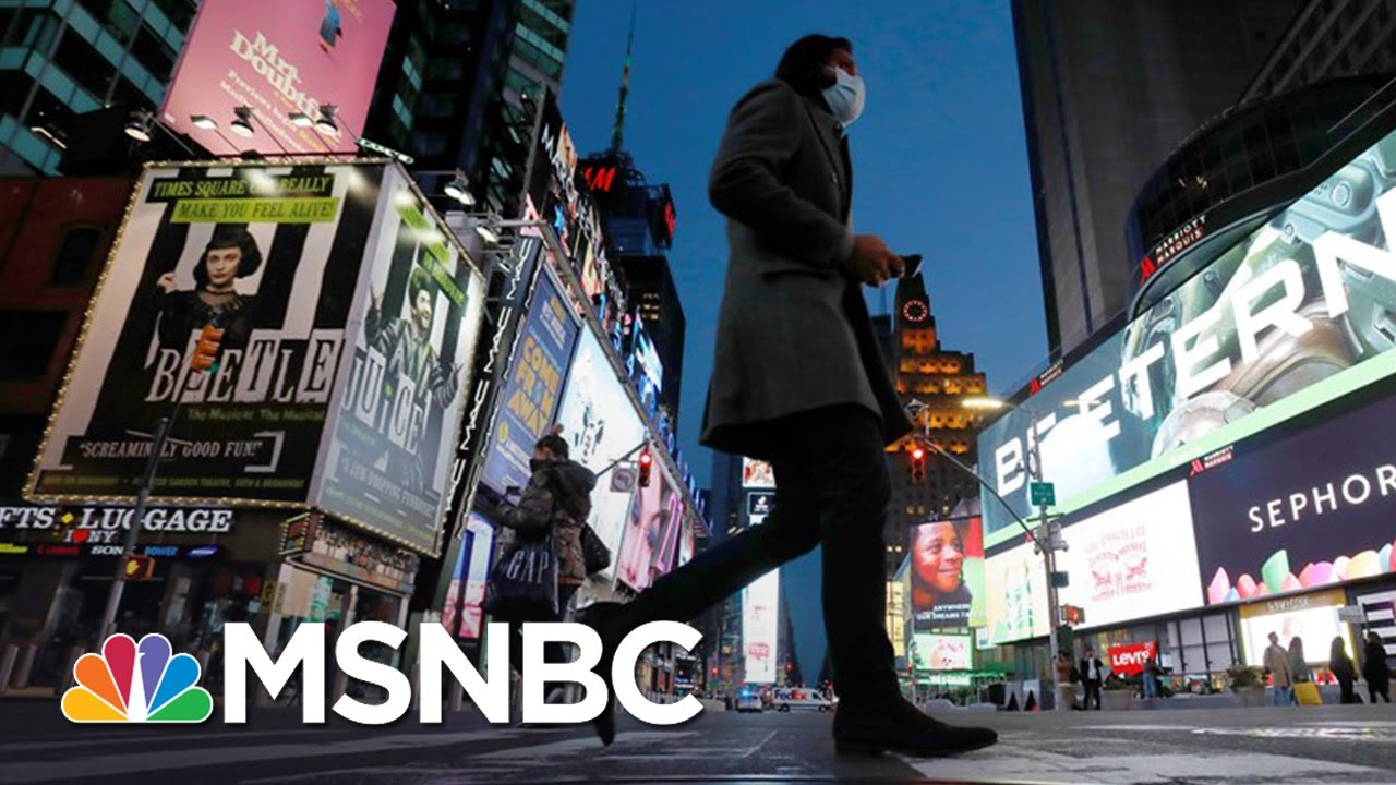 Is New York Approaching A Coronavirus Peak, Or A Plateau? | The Day That Was | MSNBC 2