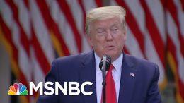 Meacham: Trump's Coronavirus Response Falls 'Utterly' Short Of Empathy | The 11th Hour | MSNBC 2