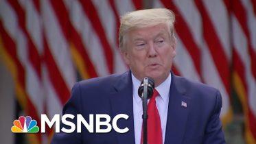 Meacham: Trump's Coronavirus Response Falls 'Utterly' Short Of Empathy | The 11th Hour | MSNBC 10