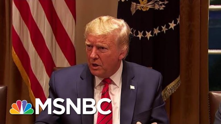 As U.S. Intel Privately Warned Of Deadly Virus, Trump Claimed 'It Will Disappear'   MSNBC 1