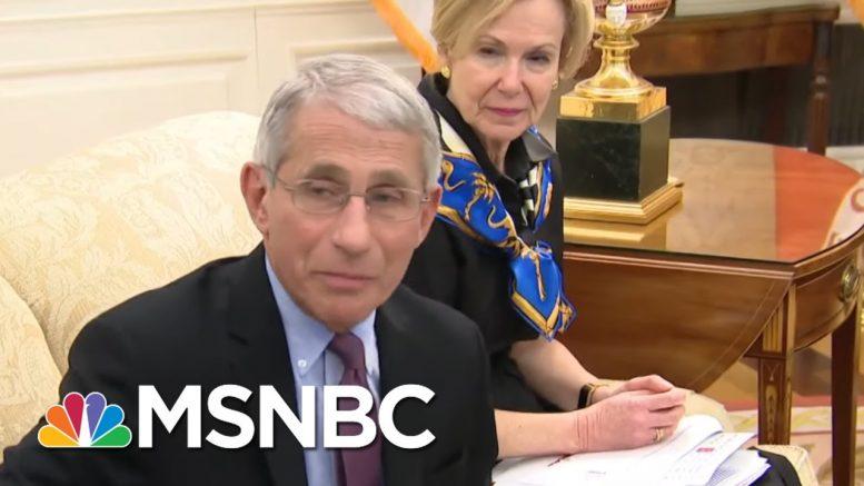 Fauci: Remdesivir Trial Is 'Opening The Door' To Possible Coronavirus Treatments   MSNBC 1