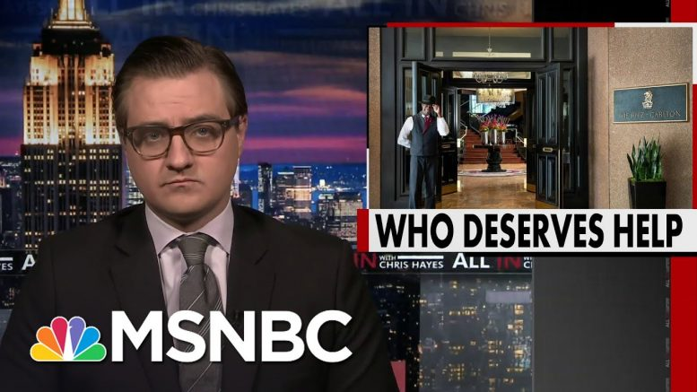 Chris Hayes: Yeah, We Should Bail Out The Ritz-Carlton | All In | MSNBC 1