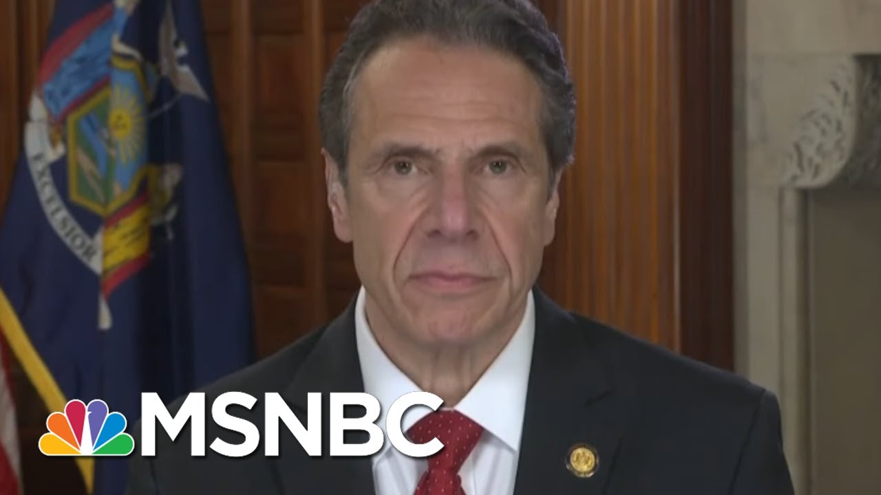 Cuomo: 'Obnoxious' For McConnell To Threaten Bankruptcy For States   MSNBC 4