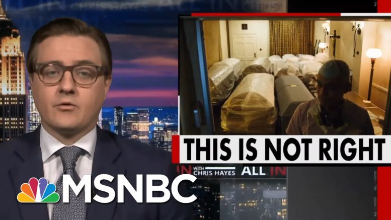 Chris Hayes On Trump Refusing To Release Relief Funding For Burials Amid Pandemic | All In | MSNBC 1