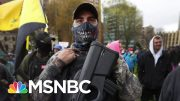 Frontline Doctor In Michigan Responds To Armed Protesters At State Capitol | The Last Word | MSNBC 2
