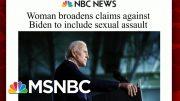 Biden To Address Assault Allegation Exclusively On Morning Joe | Morning Joe | MSNBC 4
