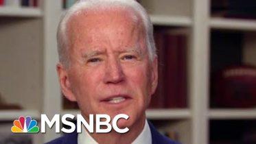 Biden: 'False Choice' Of Getting Virus Under Control, Getting Back To Work | Morning Joe | MSNBC 1