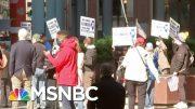 Chicago Protesters Call For End To Illinois Coronavirus Lockdown | Hallie Jackson | MSNBC 3