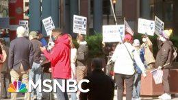 Chicago Protesters Call For End To Illinois Coronavirus Lockdown | Hallie Jackson | MSNBC 4