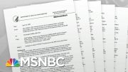 Marked Change In Tone In CDC Meat Plant Reports Raises Questions | Rachel Maddow | MSNBC 5