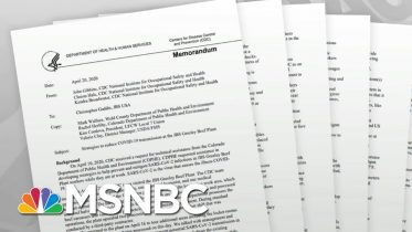 Marked Change In Tone In CDC Meat Plant Reports Raises Questions   Rachel Maddow   MSNBC 6