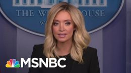 New Trump WH Press Secy. Kayleigh McEnany Says She Won't Lie From Podium | The 11th Hour | MSNBC 7