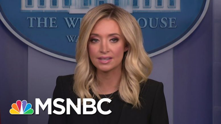 New Trump WH Press Secy. Kayleigh McEnany Says She Won't Lie From Podium | The 11th Hour | MSNBC 1