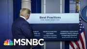 Harvard Expert: The President Should Follow His Own Reopen Plan | All In | MSNBC 5