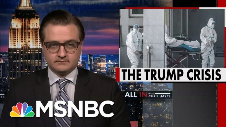 Chris Hayes On Right-Wing's 'Escape From The Lab' Theory Of Coronavirus Origin | All In | MSNBC 1