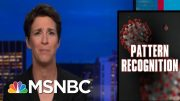 Growth In Coronavirus Cases Shifts To Outbreaks Across U.S. | Rachel Maddow | MSNBC 4