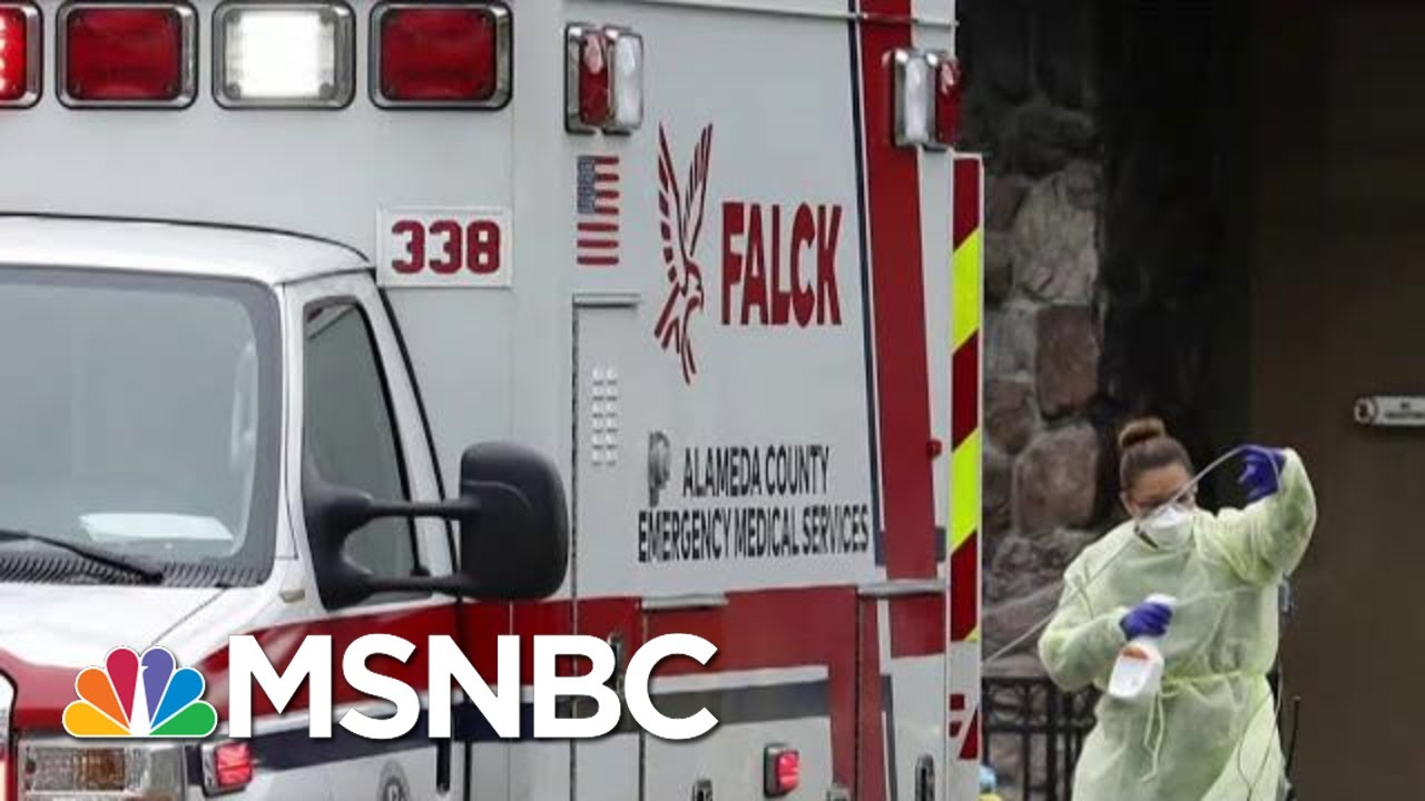 Models Predict Rise In Cases, Deaths In Coming Weeks | Morning Joe | MSNBC 3