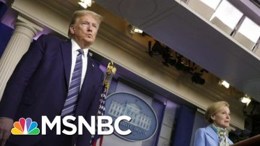 Lawrence: Trump's Coronavirus Task Force 'Two Hour Performances' Are Over | The Last Word | MSNBC 6