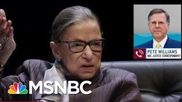 Justice Ruth Bader Ginsburg Hospitalized, Plans Quick Return To Work | Rachel Maddow | MSNBC 1