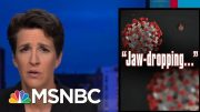 Coronavirus Crisis Compounded By Disastrous Trump Admin Decisions | Rachel Maddow | MSNBC 4