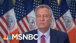 De Blasio: NYC Will Reopen With Evidence Of Profound Change | Morning Joe | MSNBC 4