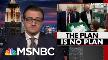 Chris Hayes On Disconnect Between Trump's Thetoric And Reality Of Coronavirus | All In | MSNBC 10