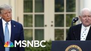 Trump Agriculture Secretary 'Exhorts' Meat Plants To Keep Working | Rachel Maddow | MSNBC 3