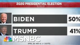 New Poll Finds Biden With Significant Lead Over Trump Among Women | Deadline | MSNBC 8