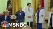 Trump Contradicts Nurse Over PPE Availability | Morning Joe | MSNBC 5