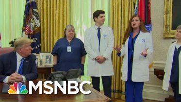 Trump Contradicts Nurse Over PPE Availability | Morning Joe | MSNBC 6