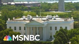 COVID-19 Positive White House Valet Served President His Meals | Andrea Mitchell | MSNBC 8
