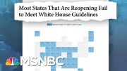 The White House Rejected CDC Guidelines On How To Reopen The Country | MTP Daily | MSNBC 5