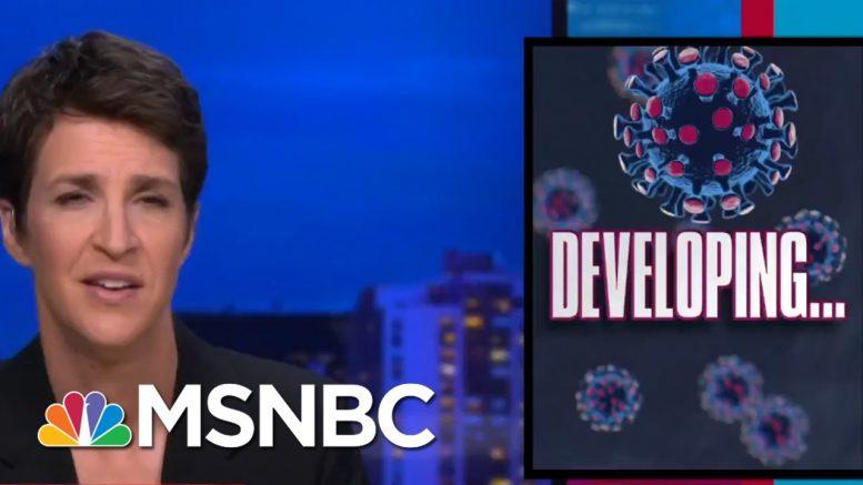 Trump Reportedly Rages Over Cracks In His Coronavirus Bubble | Rachel Maddow | MSNBC 1