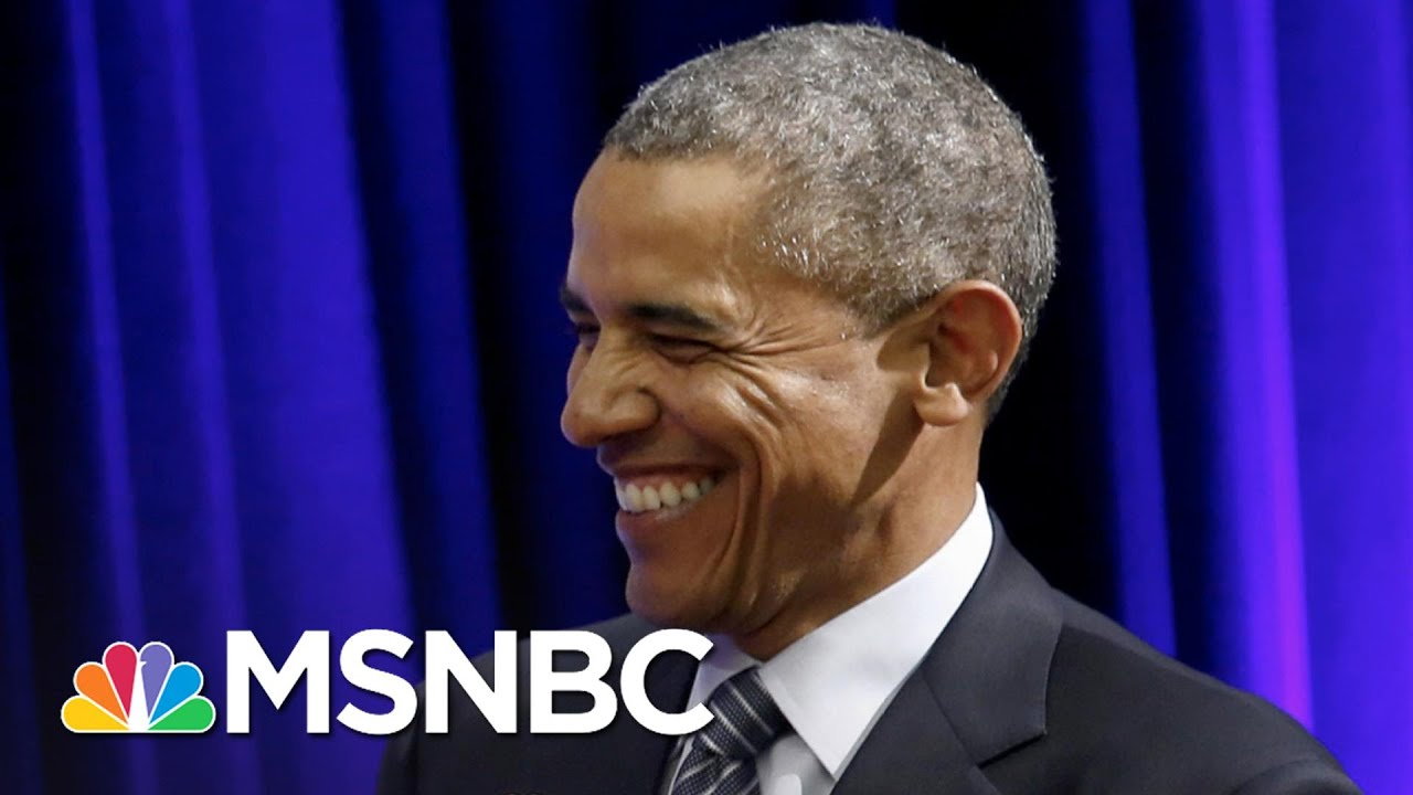 Barack Obama Surprises Teachers With A Message Of Thanks | The 11th Hour | MSNBC 3