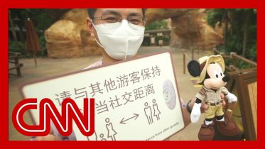 Shanghai Disneyland reopens with social distancing measures in place 1