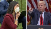 Trump abruptly ends press conference after testing question: 'You should ask China' 5