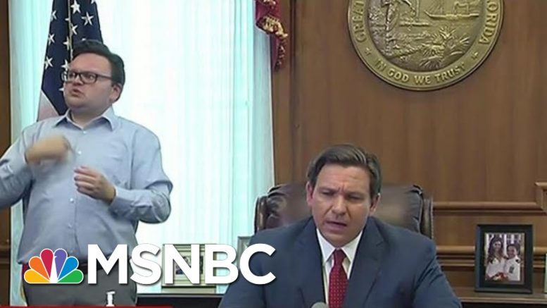 More Governors Issuing Stay-At-Home Orders | Morning Joe | MSNBC 1